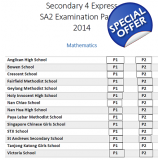 Secondary 4 2014 - 2010 A & E Maths, C..