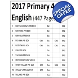 Primary 4 2017 English, Maths, Science..