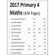 2017 Single Subject Paper Primary 4