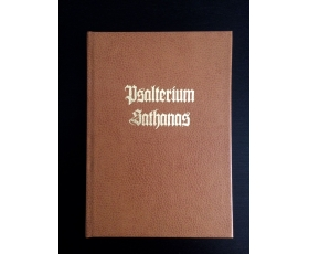 Psalterium Sathanas - Special edition, tan eather bound