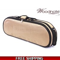 Woodnote VC-820BRK Enhanced 4/4 Half-Moon Violin Case/Free German Silver String Set