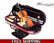 Woodnote 310/820PL 4/4 Violin Fiddle with Free G..