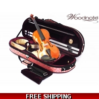 Woodnote 310/820PL 4/4 Violin Fiddle with Free German Silver String set