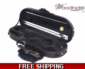 Woodnote VC-820BKH Enhanced 4/4 Half-Moon Violin..