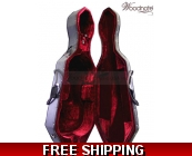 Woodnote CC-300BK Enhanced Foamed/Wheeled Cello ..