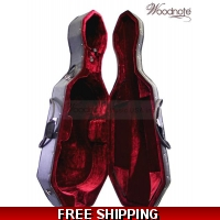 Woodnote CC-300BK Enhanced Foamed/Wheeled Cello Case