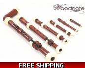 Woodnote 6 pieces Pro. Twin Color Wood Grain/Ivo..