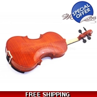 Woodnote VB-290 Flamed Violin with Free Extra String Set