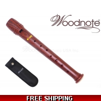 Woodnote 16.5 cm/6.5 inche Wood Grain Garklein RecorderPiccolo-Baroque fingering/1 piece construction