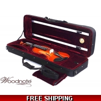 Woodnote 310/350HRD 4/4 Violin Fiddle with Free German Silver String set