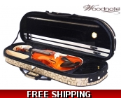 Woodnote 310/820BR 4/4 Violin Fiddle with Free G..