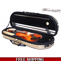 Woodnote 310/820BR 4/4 Violin Fiddle with Free German Silver String set