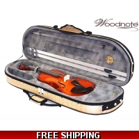 Woodnote 310/820GD 4/4 Violin Fiddle with Free German Silver String set