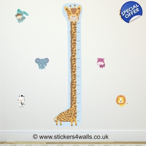 Giraffe Height Chart Wa..