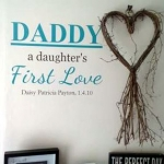 Personalised Dad Wall Sticker