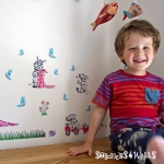 Bertie's Blanket Wall Stickers