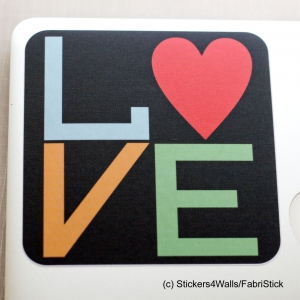 LOVE Laptop Sticker Fabristi..