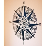 Nautical Mandala Wall Sticker