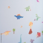Dinosaur & Woolly Mammoth Wall Stickers