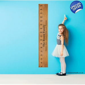 Personalised Ruler Height Ch..