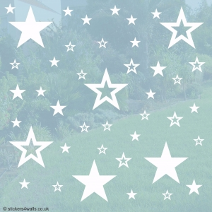 Star Window Stickers
