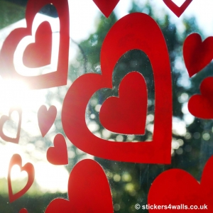 Heart Window Graphics -..