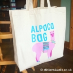 Alpaca Bag, Reusable High Quality Market Shopper Bag