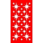 Christmas Star Window Stickers