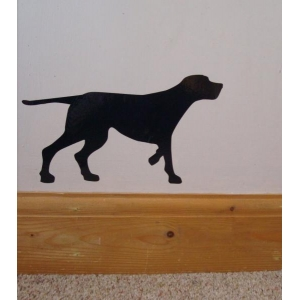 Pointer Dog Vinyl Wall ..