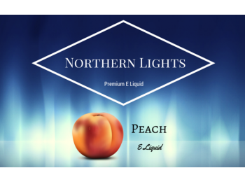 Northern Lights Premium Peach flavour