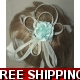Stunning Ivory Cream Multi loops fascinator with..