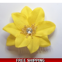 SUNFLOWER YELLOW GOLD FLOWER WITH..