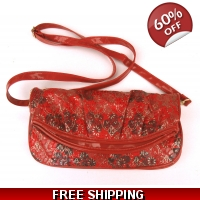 Red & Gold Sholder Bag