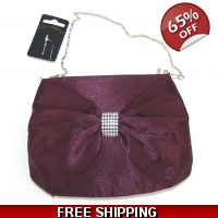 Purple Evening Bag Purse