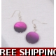 Two tone Purple LUSTRE DROP EARRINGS COPY COPY C..