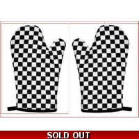 Black & White chequered Cotton Ov..