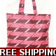 TEMPTATIONS ULTIMATE SHOPPING BEACH BAG PINKS st..