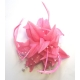 FUSHIA PINK FASCINATOR