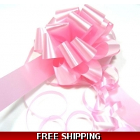 A pack of 4 x BABY PINK 30 mm SAT..