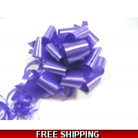 A pack of 4 x PURPLE 30 mm SATIN ..