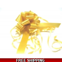 A pack of 4 x GOLD 31mm SATIN PUL..