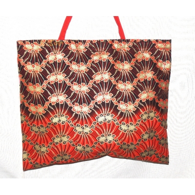 TEMPTATIONS ULTIMATE SHOPPING BEACH BAG RED/PINK/GOLD style TANGO made in the UK