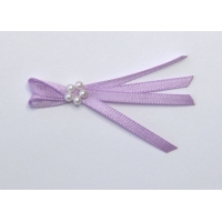 Pkt of 5 LILAC / PURPLE TIE BOWS ..