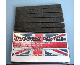 Float box slotted foam strips