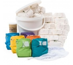 Little Lamb Bamboo Nappy 20 SET