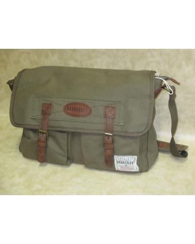 46a750fc96 Brakeburn Messenger Bag - Khaki - available at Carews