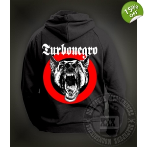 Turbonegro 'Dog Face' Hooded..
