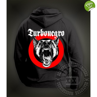 Turbonegro 'Dog Face' Hooded Sweatshirt