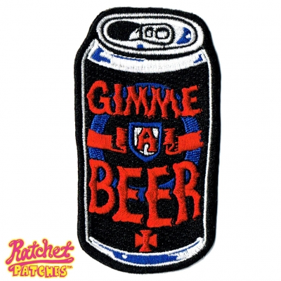 Gimme A Beer Patch / Pin