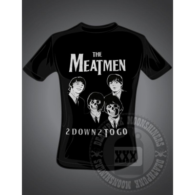 "The Meatmen 'Two Down, Two To Go"" T"